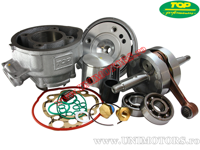 Set cilindru (motor) si ambielaj racing TOP Performances - Aprilia RS50 / RX50 / Minarelli AM345 / AM6 - 85cc 2T