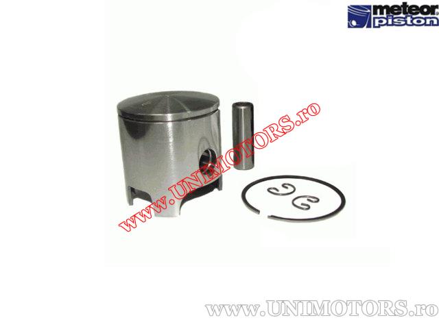 Piston 70cc 2T - Piaggio / Gilera (set Malossi aluminiu) (47,55mm - 47,59mm) - (Meteor)