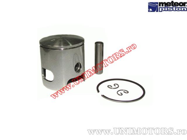 Piston 70cc 2T - Minarelli / Yamaha (set Malossi fonta / un singur segment) (47,00mm - 48,40mm) - (Meteor)