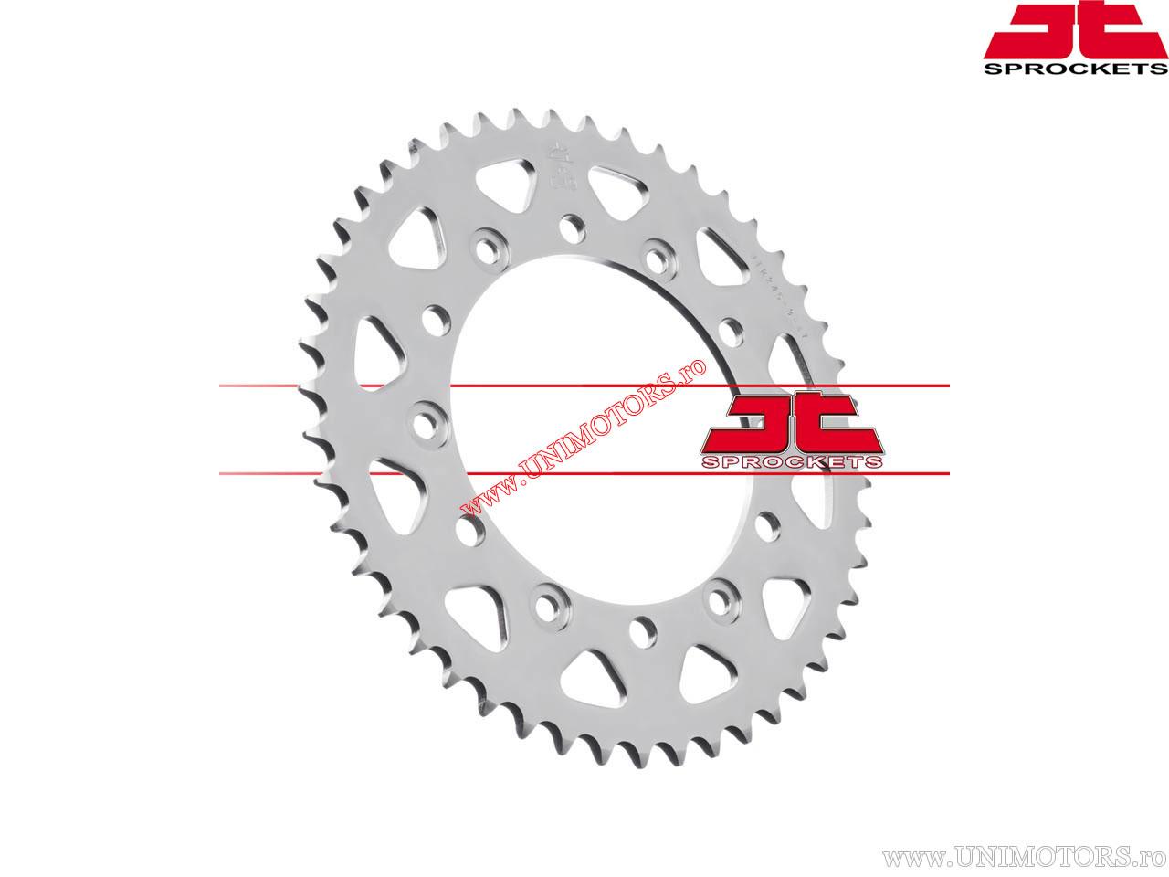 Pinion spate Honda FMX650 / FX650 / SLR650 / VT250 / NX650 Dominator / FZ-6 / XJ6 Diversion / XR600 / FZ-6R - JTR 245/3 - (JT)