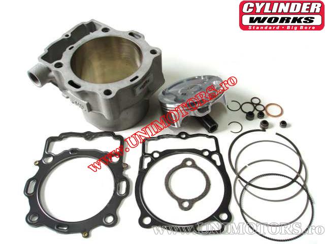 Set cilindru (motor) - Husaberg FE 450 / KTM EXC 400 / EXC 450R 520cc 4T - (Vertex)