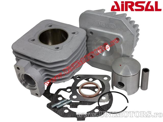 Set cilindru (motor) Airsal - Peugeot Ludix AC (aer) - 70cc 2T