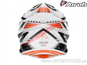 Casca Airoh Aviator 2.1 Valor White-Orange 2015 - (Airoh)