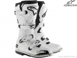 Cizme enduro / cross Tech 8 RS (alb) - Alpinestars