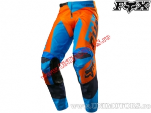 Pantaloni enduro / cross - FOX Racing 180 Mako Pant Orange/Blue