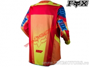 Tricou enduro / cross - FOX Racing 180 Imperial Jersey Red/Yellow