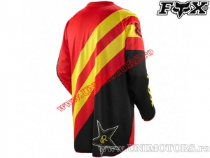 Tricou enduro / cross - FOX Racing HC Rockstar Jersey Red