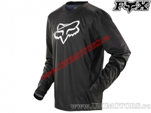 Tricou enduro / cross - FOX Racing Nomad Constant Black