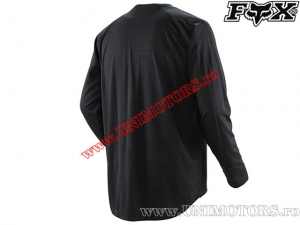Tricou enduro / cross - FOX Racing Nomad Guideline Jersey Black