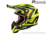 Casca Airoh Aviator 2.1 Arrow Yellow 2015 - (Airoh)