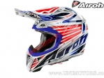 Casca Airoh Aviator 2.1 Valor Red-Blue 2015 - (Airoh)