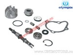 Set reparatie pompa apa -  Kymco Grand Dink / People / X-Citing / Yup / KXR / MXU / Maxxer 250cc/300cc 4T - (Olympia)