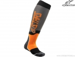 Sosete enduro / cross - Mx Plus-2 (gri/portocaliu) - Alpinestars