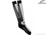 Sosete enduro / cross - Thermal Tech (negru/gri) - Alpinestars