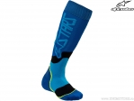 Sosete enduro / cross - Youth (copii) Mx Plus-2 (albastru/negru) - Alpinestars