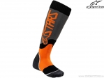 Sosete enduro / cross - Youth (copii) Mx Plus-2 (gri/portocaliu) - Alpinestars