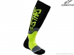 Sosete enduro / cross - Youth (copii) Mx Plus-2 (negru/galben) - Alpinestars