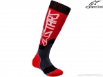 Sosete enduro / cross - Youth (copii) Mx Plus-2 (rosu/alb/negru) - Alpinestars