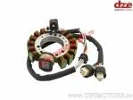 Stator Yamaha YFM Warrior 350 ('87-'95) / YFM 350 Big Bear ('89-'94) / YFM Moto-4 350 ('92-'94) - (DZE)