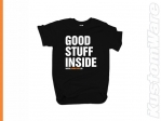 Tricou casual 'Good Stuff Inside' - Kustomware